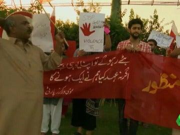 Protestas en Pakistán contra los crímenes de honor