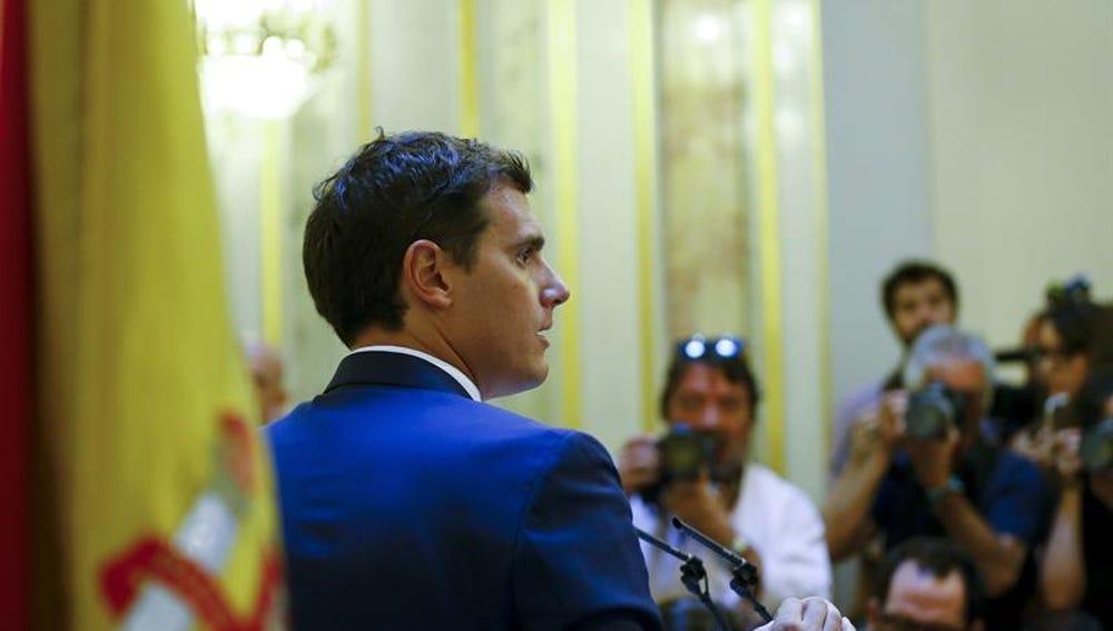 Albert Rivera comparece en el Congreso