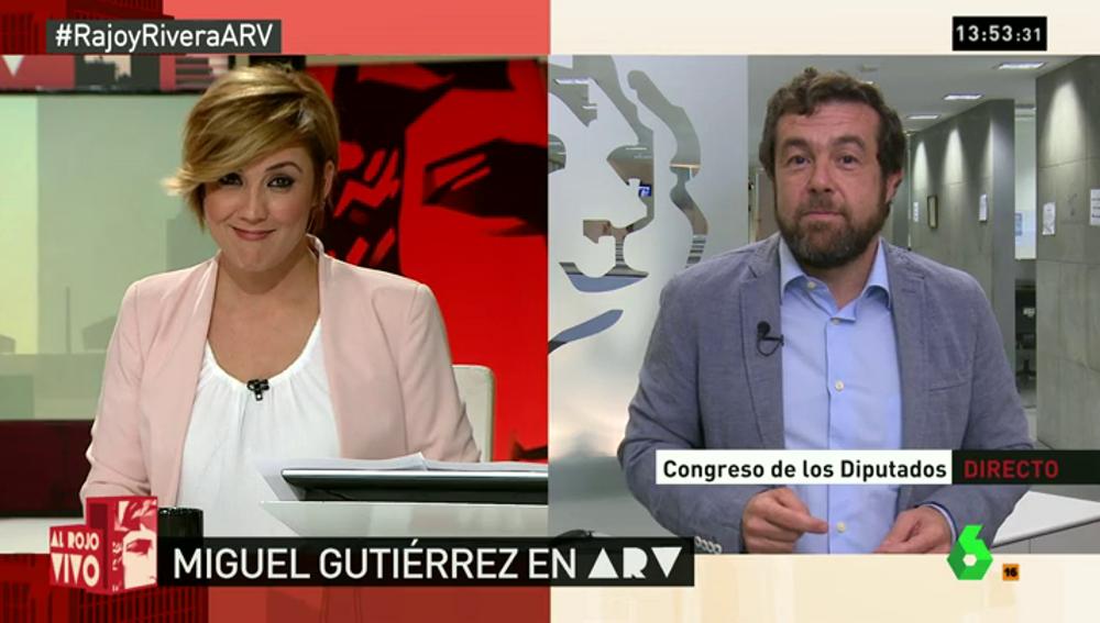 """Frame 90.239983 de: Guitiérrez: """"Parece descabellado que Rajoy diga que es urgente y se vaya de vacaciones, algo de lo que no avisó"""""""