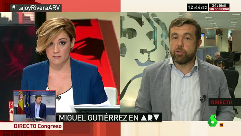 """Frame 134.817718 de: Miguel Gutiérrez: """"Se deben de iniciar los trámites de las reformas en los primeros tres meses de legislatura"""""""