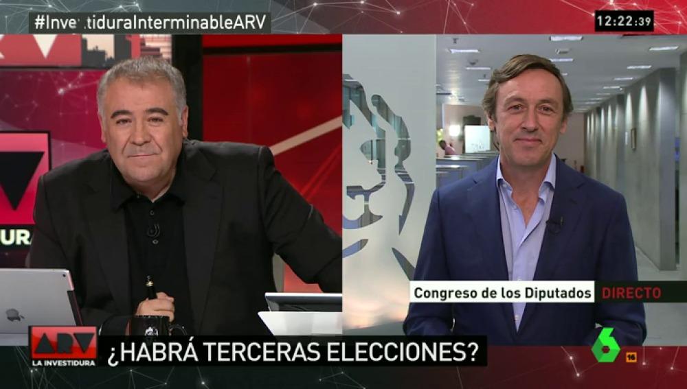 """Rafael Hernando: """"Después de las elecciones nos dijeron que si veníamos con 170 apoyos estuviéramos tranquilos"""""""
