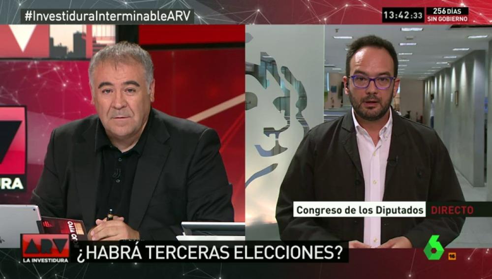 """Antonio Hernando: """"No apoyaríamos a otro candidato popular con programa del PP"""""""