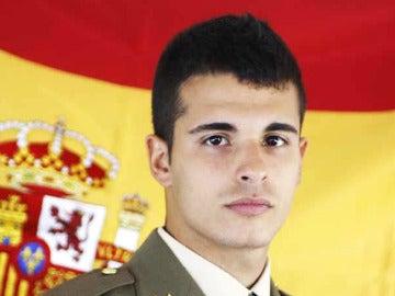 El soldado Aarón Vidal López