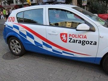Vehículo de la Policía Local de Zaragoza