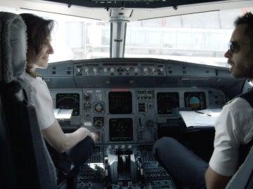 Avión de Iberia en Dentro de