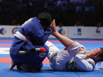 Combate de Jujitsu