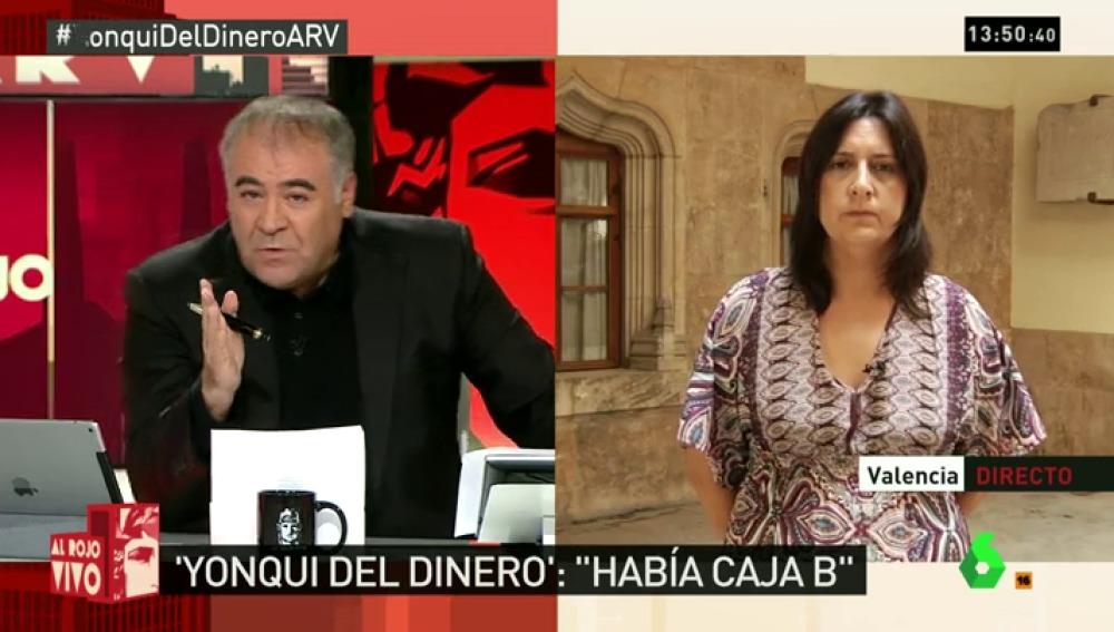 """Rosa Pérez: """"Están afectadas muchas administraciones y personas que han sido de la cúpula del PP"""""""