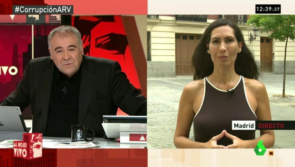 """Marisa Gallero: """"Luis Bárcenas dice que su retirada no es a cambio de nada, niega que haya un pacto con el PP"""""""