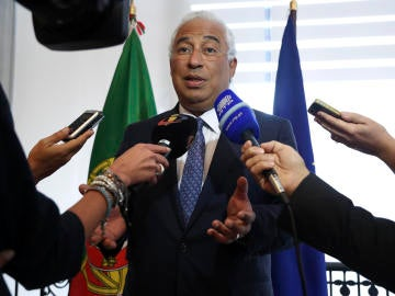 El primer ministro de Portugal, António Costa.
