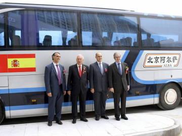 Alsa inaugura su gran estación china