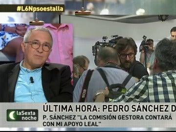 """Frame 24.253351 de:  Xavier Sardà: """"No sólo ha caído Pedro Sánchez. El PSOE se ha suicidado de una forma irreversible"""""""