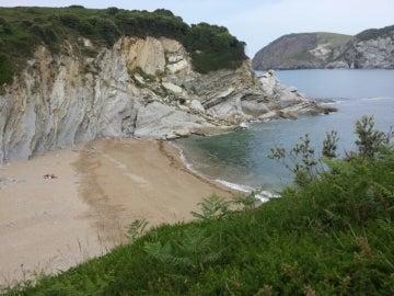 Playa de Muriola, Vizcaya.