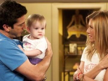 Emma, la hija de Ross y Rachel en 'Friends'