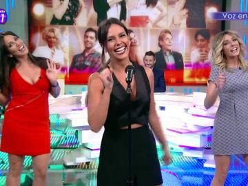 Cristina Pedroche canta 'Mi gran noche'