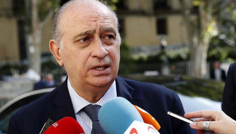 El exministro del Interior, Jorge Fernández Díaz,