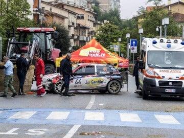Trágico accidente en un rally de coches clásicos en San Marino