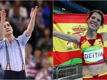 Javier Fernández y Ruth Beitia, Premios Nacionales del Deporte