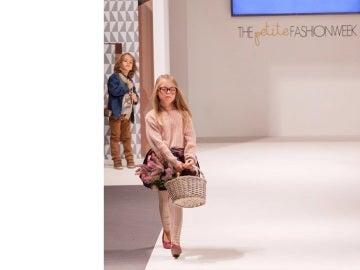 Sofía, una de las modelos de 'The Petite Fashion Week'
