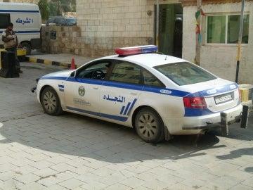 Un coche de la Policía en Jordania