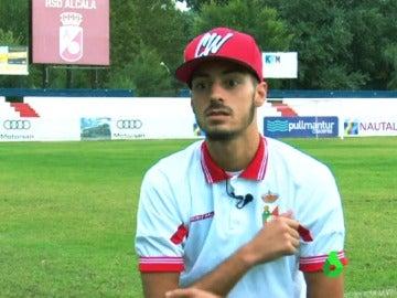 El hermano de Carrasco, Mylan Carrasco, jugador del Alcalá
