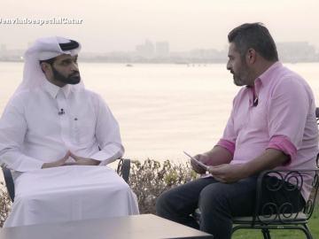 Jalis de la Serna entrevista a Hassan Al Thawadi, presidente del Comité Organizador del Mundial 2022