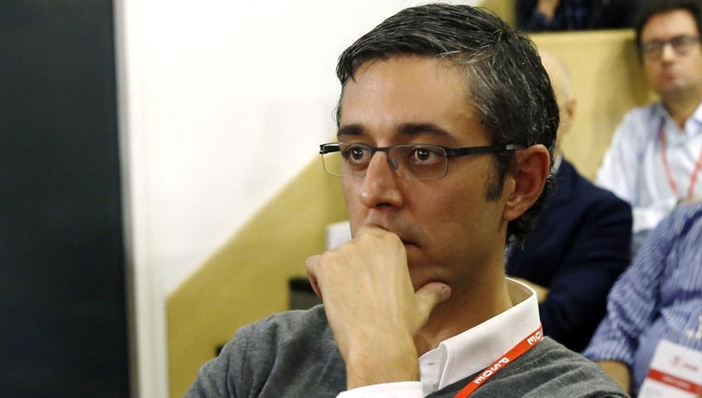 Eduardo Madina en el Comité Federal del PSOE