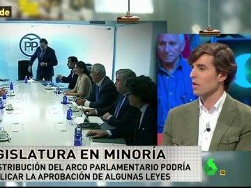 """Frame 41.255803 de: Pablo Montesinos: """"En un Gobierno de Rajoy suena Javier Maroto como ministro en el área social"""""""