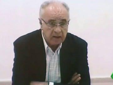 Rafael Blasco durante su intervención ante las Cortes Valencianas