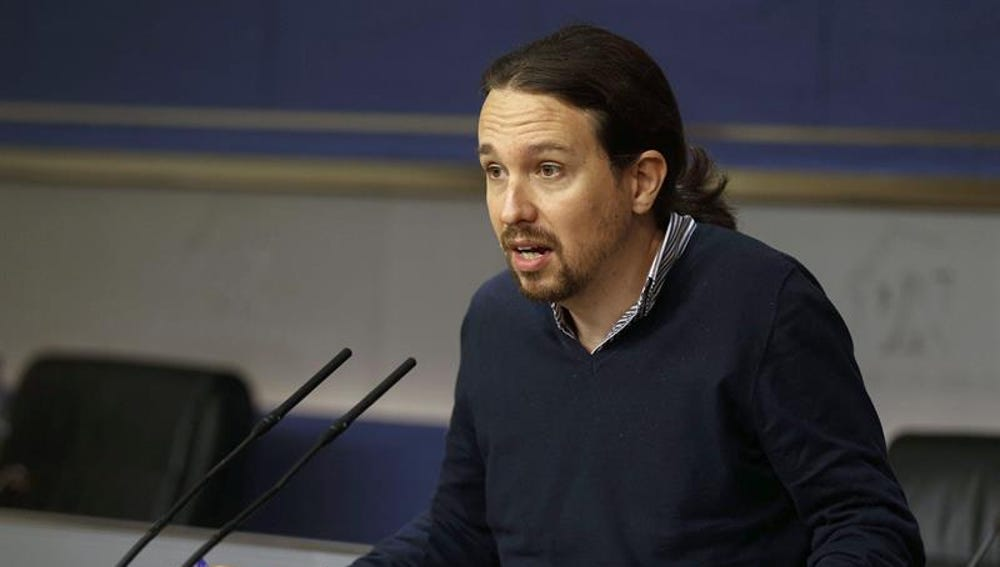 Pablo Iglesias comparece en el Congreso de los Diputados