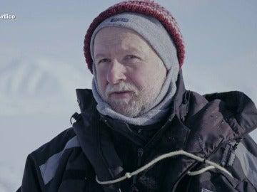 """Rolf Gradinger, biólogo marino: """"La pérdida de hielo afectará a la pesca, así que hay una cuestión económica"""""""