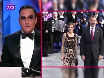 Josie comenta el look de la reina Letizia