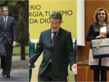 Íñigo de la Serna, Álvaro Nadal y Dolors Montserrat