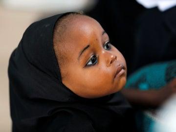 Una bebé en Nigeria