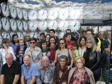 Monumento homenaje a las víctimas del accidente de Metro de Valencia