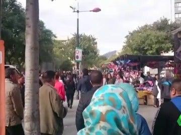 Frame 2.526128 de: Agredido el portavoz de Ciutadans en L'Hospitalet de Llobregat por un desconocido
