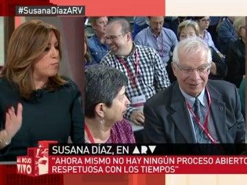 """Frame 26.809944 de: Susana Díaz: """"A España le va bien cuando el PSOE gobierna"""""""