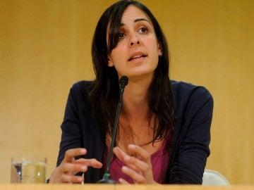 La portavoz en el Ayuntamiento de Madrid, Rita Maestre.