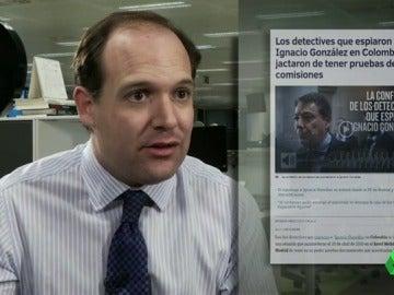 """Frame 29.654505 de: Wyoming: """"Si González ingresa en prisión, que le manden a la misma que a Granados, así Esperanza Aguirre se ahorraría una visita"""""""