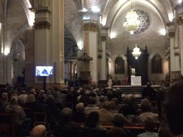 Homilía por Rita Barberá en la Catedral de Valencia
