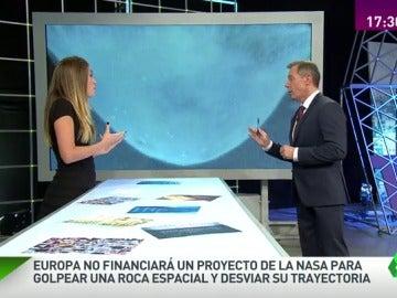 Frame 166.277254 de: Europa abandona la primera misión de defensa frente a asteroides