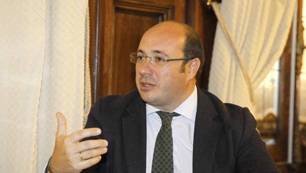El presidente de Murcia, Pedro Antonio Sánchez