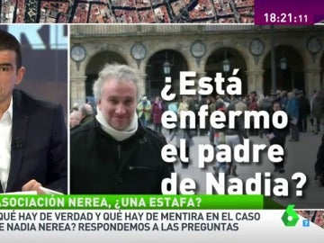 """Frame 16.282635 de: Manu Marlasca: """"La clínica Teknon asegura que no ha tratado como paciente al padre de Nadia"""""""