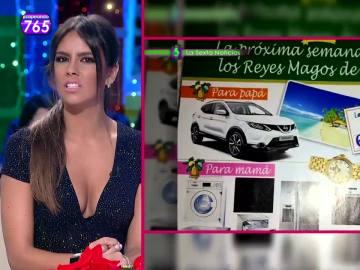 Cristina Pedroche, indignada