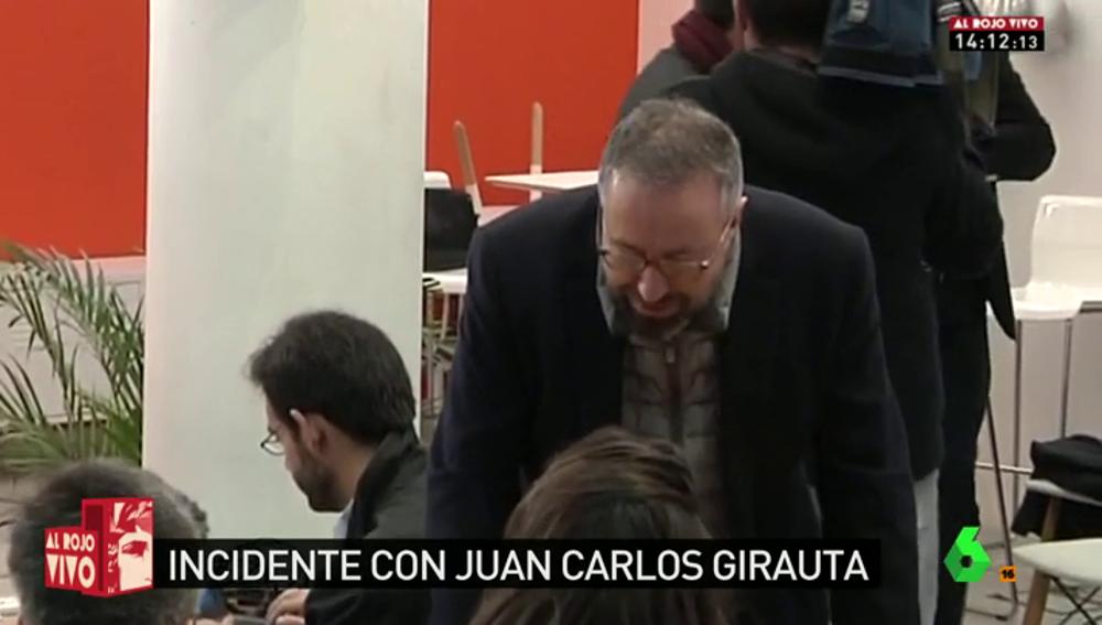 """Frame 104.633919 de: Incidente de Juan Carlos Girauta con una periodista de laSexta: """"Preocúpate de los partidos a los que laSexta promociona"""""""