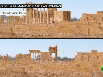 Frame 34.676718 de: La belleza de la ciudad de Palmira, una joya patrimonio de la humanidad que peligra por la guerra