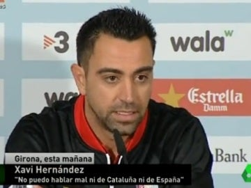 Xavi Hernández, exjugador del FC Barcelona