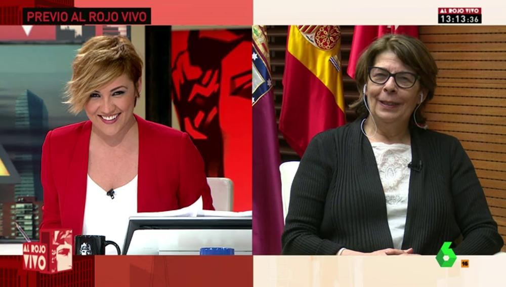 """Frame 0.0 de: Inés Sabanés: """"Aguirre ya dijo que la contaminación es un tema de salud y no ideológico"""""""