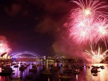 Australia celebra la llegada del nuevo año