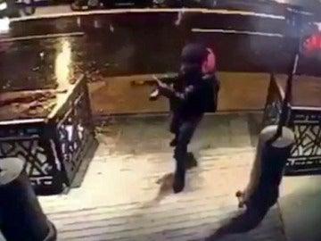 Imagen del atacante de Estambul
