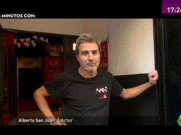 """Frame 17.047951 de: Alberto San Juan: """"La política actual es un absoluto drama, hay sufrimiento social"""""""
